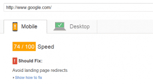 PageSpeed Insights Mobile Google