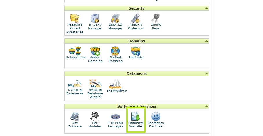 SEO Wirral website speed case study cpanel optimize