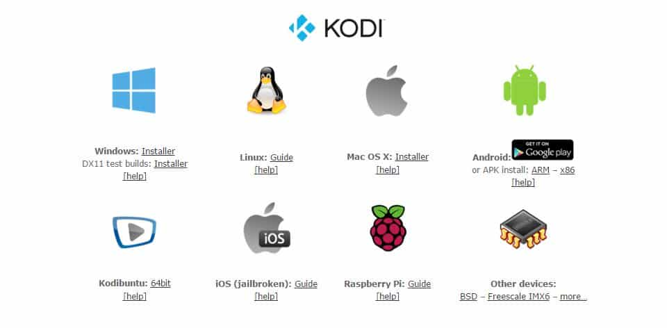 devices that can install kodi